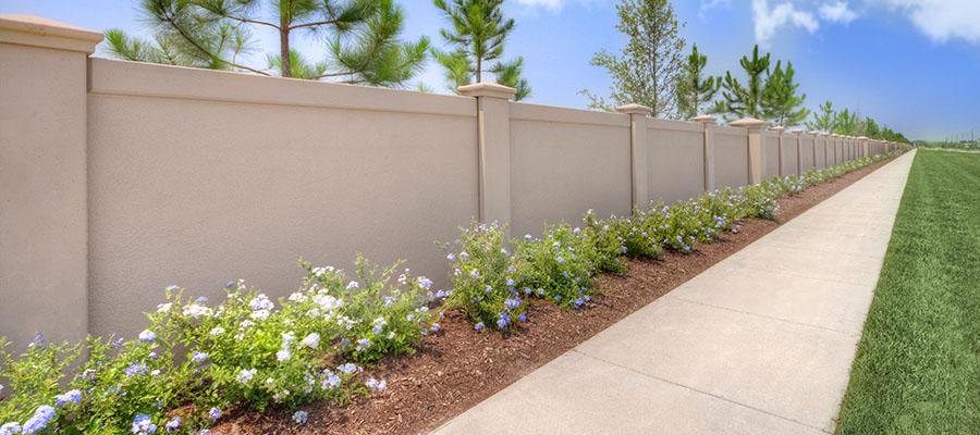 Precast Fence Wall : Precast concrete fence wall sai preethi builder