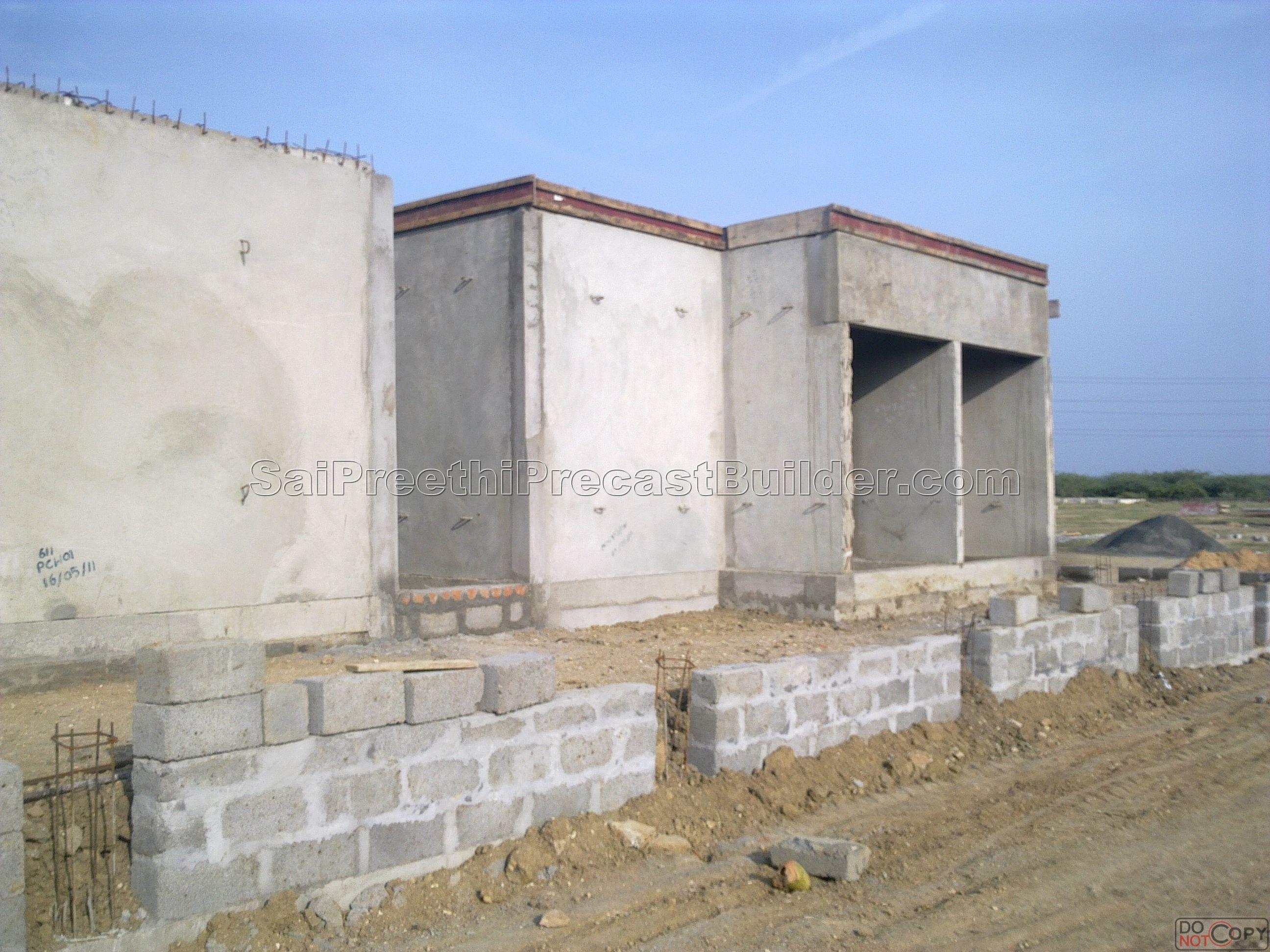 Precast residential house 4 sai preethi precast builder Precast concrete residential homes