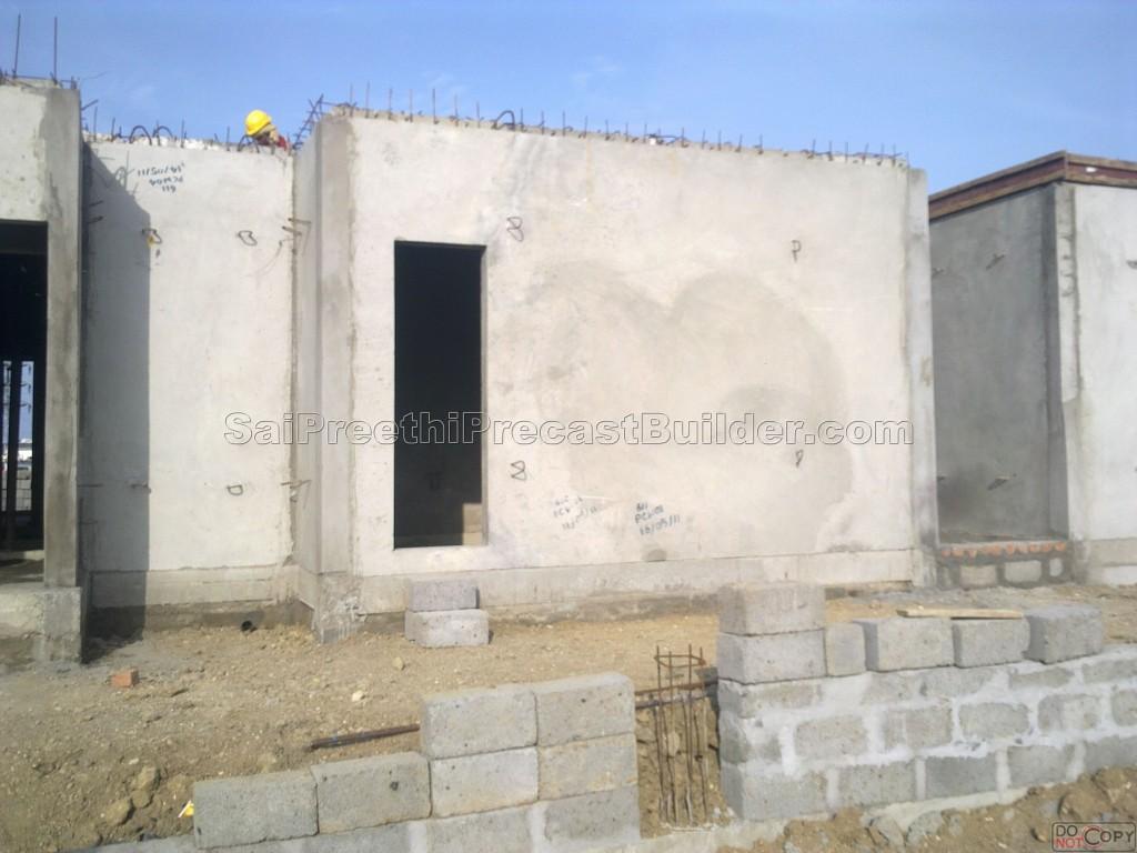 Sai preethi precast builder precast residential house 5 Precast concrete residential homes