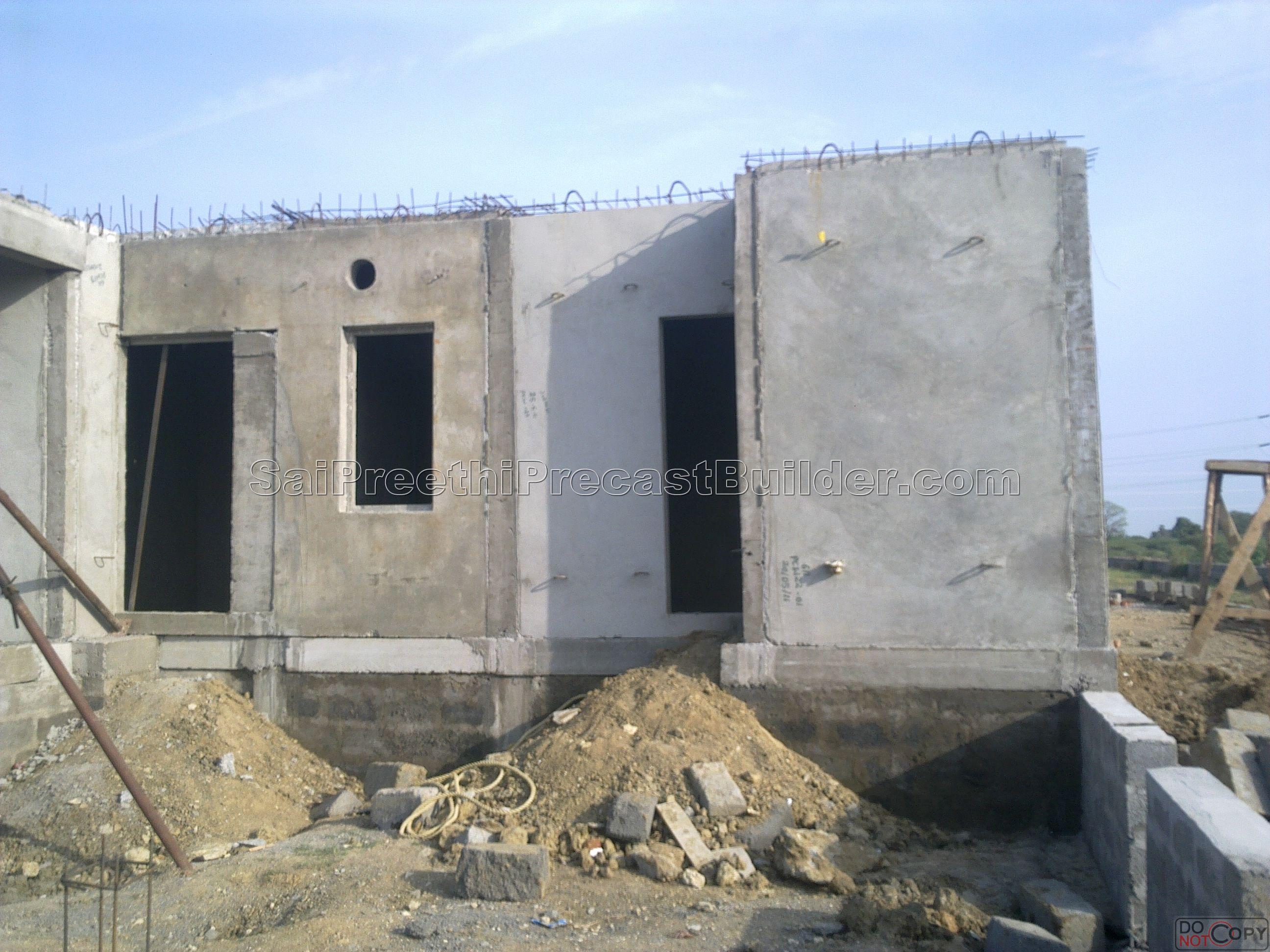 Sai preethi precast builder residential precast concrete Precast concrete residential homes